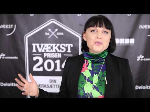 IVÆKSTprisen 2014 - Årets Kvindelige Iværksætter, Laila Pawlak, Dare2mansion m.fl