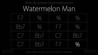 Watermelon Man : Backing track (16 bar Blues in F)
