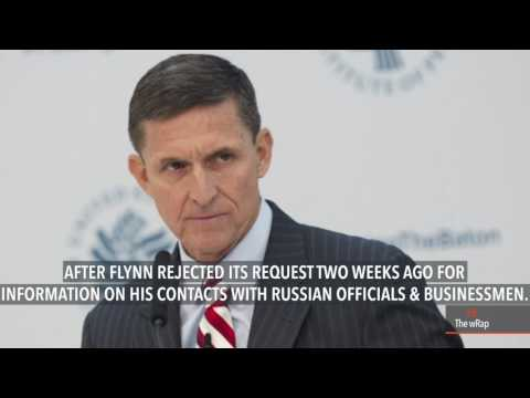 Papers of Trump ex-aide Flynn subpoenaed in Russia probe