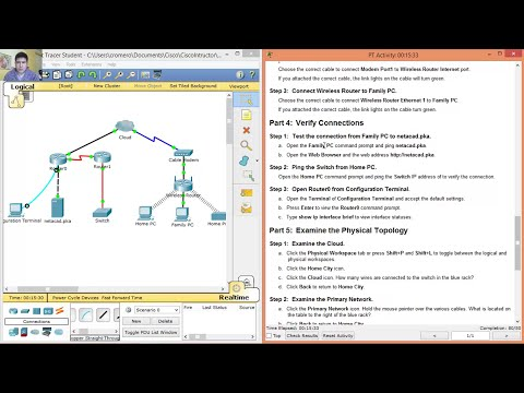 4.2.4.5 - 4.2.4.4 Packet Tracer - Connecting a Wired and Wireless LAN