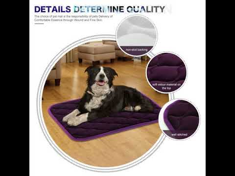 dog-crate-pad-pet-mattress-kennel-pad-30/36/42/46-inches-for-large-medium-small-dogs-and-cats