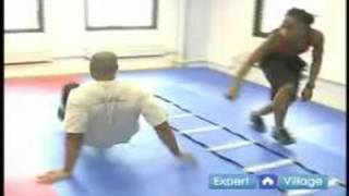 Agility Training Exercises & Techniques : How to Do the Crab Walk