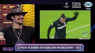 Daniel Osvaldo contó cómo fue su pelea con Mauro Icardi en el Inter.