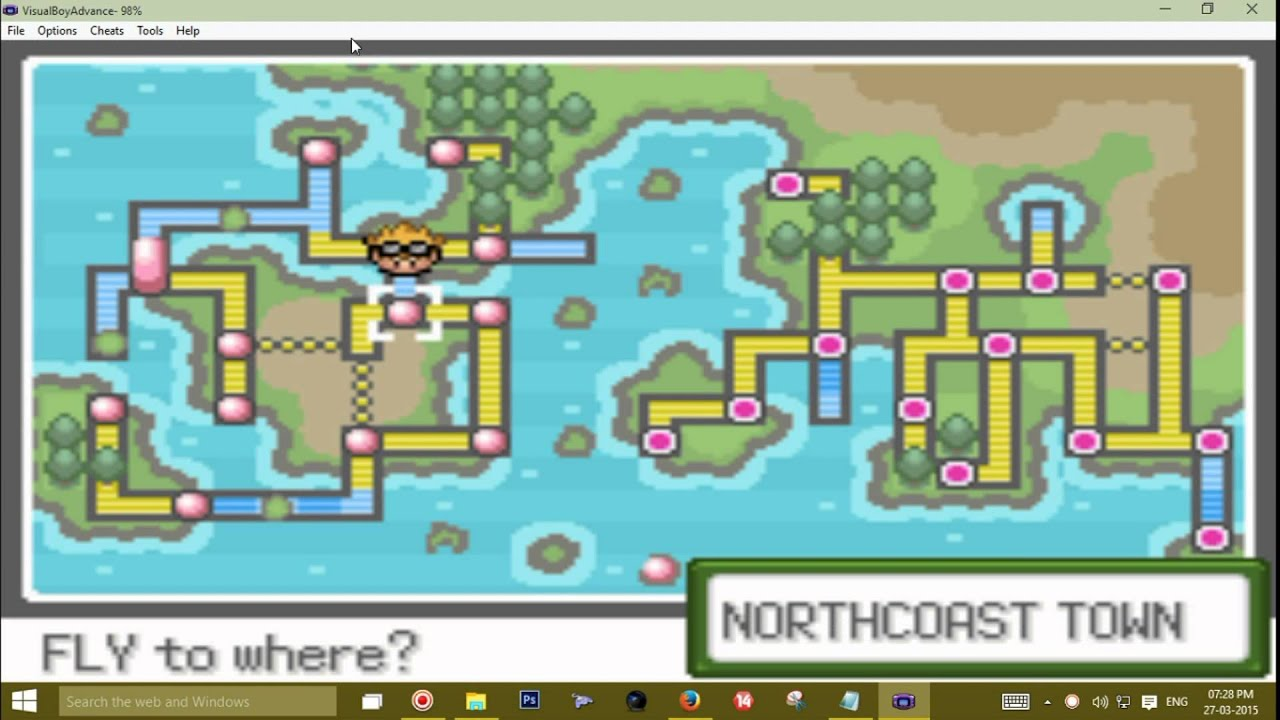 Pokemon Glazed Map Eastern Caribbean Map