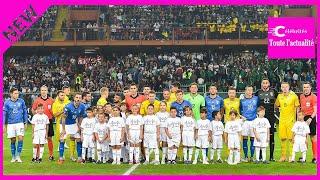 Football. Italie-Ukraine: un nul, un hommage et beaucoup d'émotions