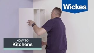 How to Hang Wall Cabinets with Wickes