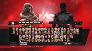 WWE 2K14 Full Roster & Ratings