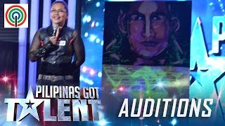 Pilipinas Got Talent Season 5 Auditions: Odette Cagandahan - Speed Painter