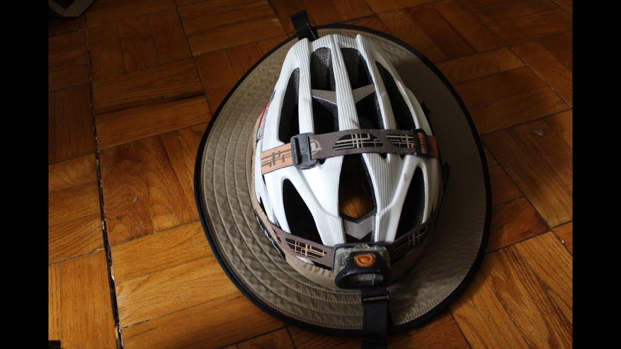 d74f56d9 Review of Da Brim Sporty Cycling Helmet Visor - YouTube