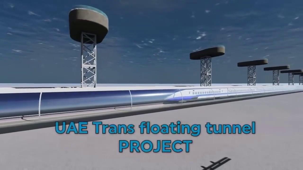 Mumbai - Fujairah (Dubai) Underwater Train Tunnel Project