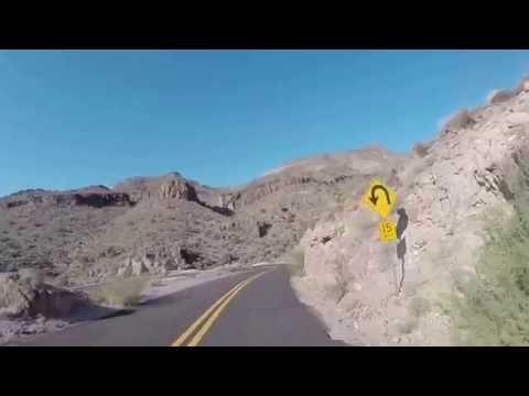Route 66 Indian Chieftain Motorcycle ride Oatman Arizona 2016