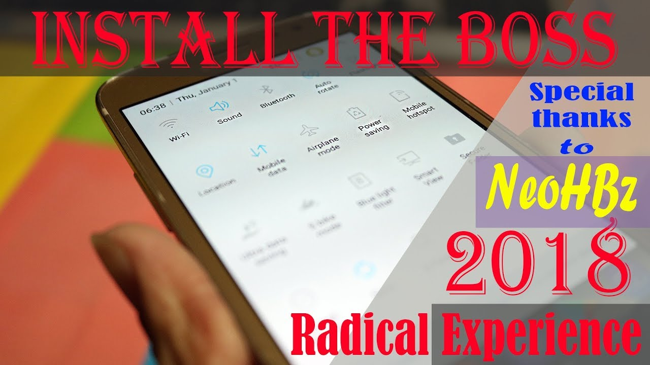 Radical Experience Rom | The BOSS is here | Samsung Galaxy J2 (6) - J210F