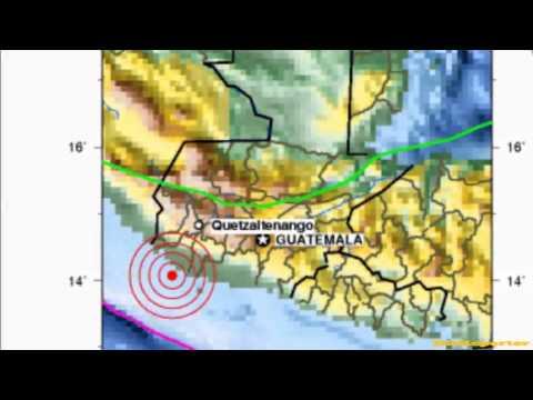 M 7.4 EARTHQUAKE - OFFSHORE GUATEMALA 11/07/12