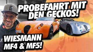 JP Performance - Probefahrt mit den Geckos! | Wiesmann MF4 & MF5