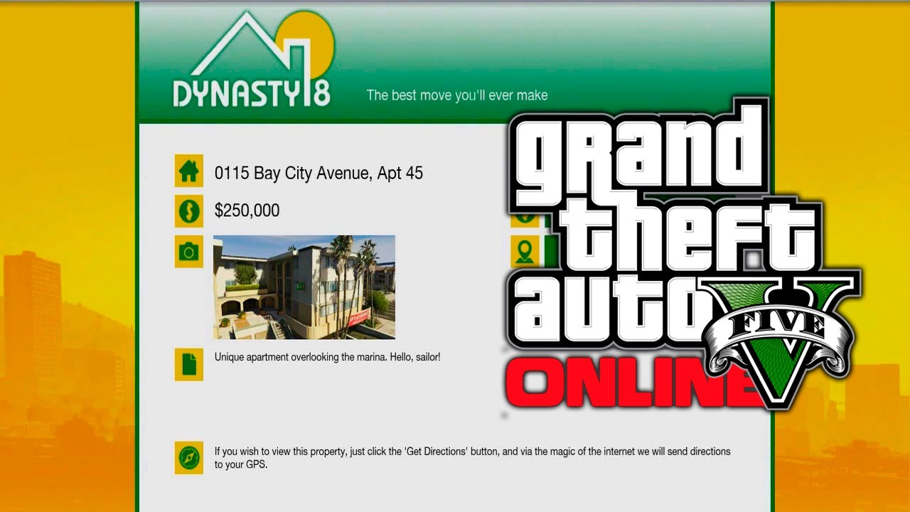 Gta 5 Online New Dynasty 8 Apartments Garages Amp Houses Found New Safehouses Dlc Gta V