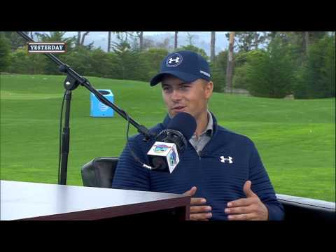 Jordan Spieth on the Special Experience of the AT&T Pebble Beach Pro-AM (2/9/17)