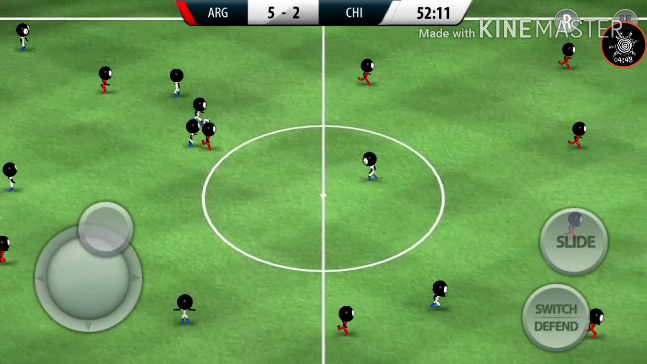 Fifa sticman 2016 game sepak bola semut:v - YouTube
