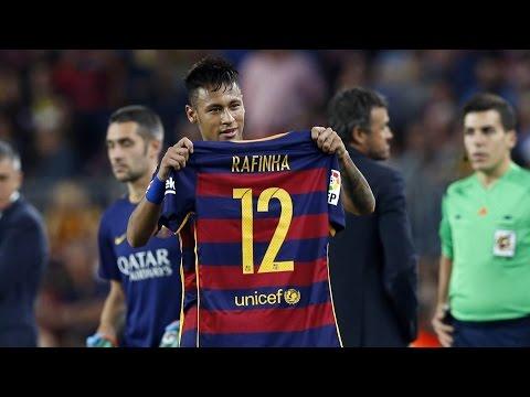 FC Barcelona players get behind Rafael Mazinho