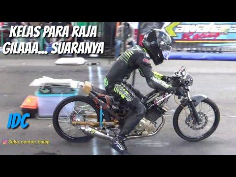 Pertarungan BEBEK 200CC pembalap TOP (penyisihan)   IDC kawahara irc 2018