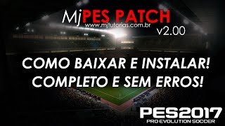 Downloading and installing - Patch PES 2017 PC - myPES Patch v2.00 (With licensed Bundesliga)