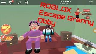Escape the Grandma Obby!!!!  ROBLOX