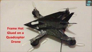 Carbon Nanotube Polymer Drone Frame Tests