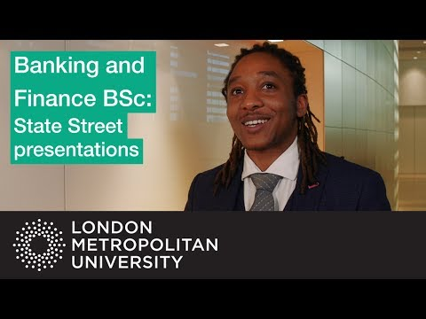 Banking and Finance BSc: State Street presentations