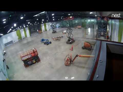 Convention Center Renovation Timelapse