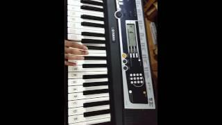 PIANO NOTES FOR BOLLYWOOD SONG: TERI MERI