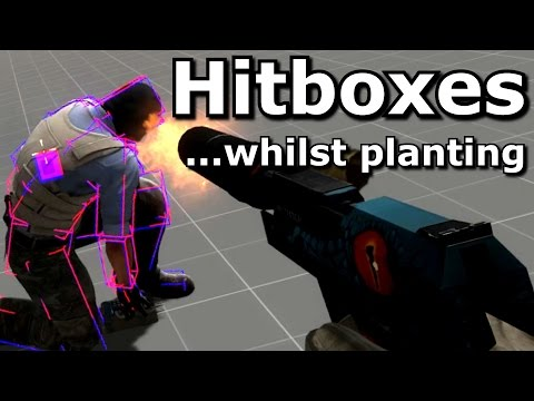 CS GO Hitboxes while planting