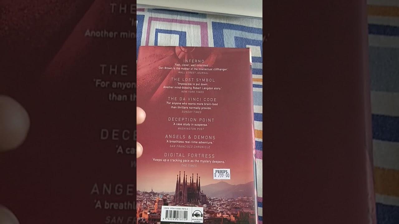 Book Review Origin By Dan Brown Youtube