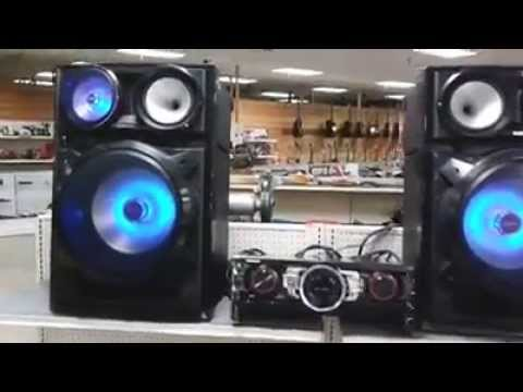 samsung watts mini hifi bluetooth component audio system youtube. Black Bedroom Furniture Sets. Home Design Ideas