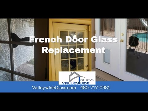 French Door Glass Replacement Company Phoenix Az Valleywide Glass