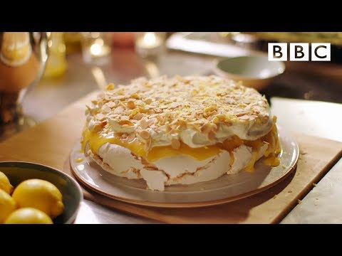 Lemon pavlova recipe  Simply Nigella: Episode 6  BBC Two