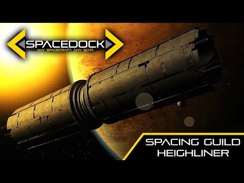 Dune: Spacing Guild Heighliner - Spacedock