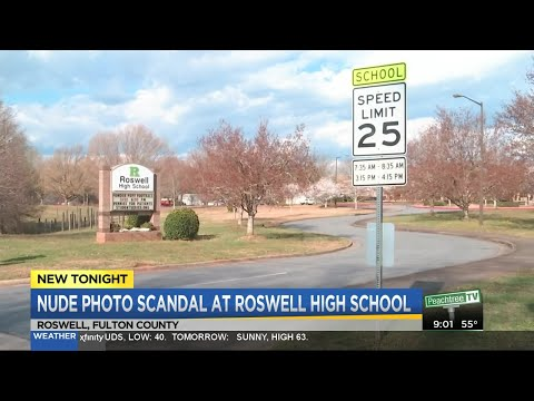Nude photo scandal at Roswell High School
