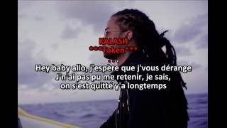 Kalash - Taken Karaoke (edit by Térreur) 2k16