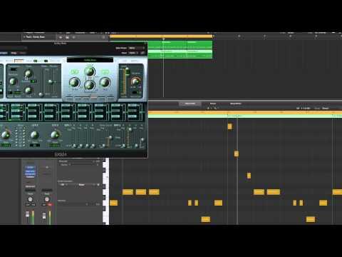 Logic Pro X Making Reggae & Dub (2) Stepper beat