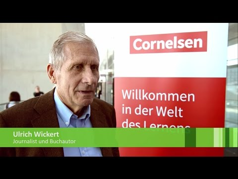 didacta-Interview: Ulrich Wickert über Medienkompetenz und Wertevermittlung an Schulen