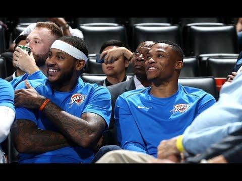 Westbrook, Carmelo and George Make Preseason Debut