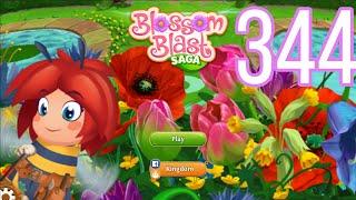Blossom Blast Saga Level 344 No Boosters