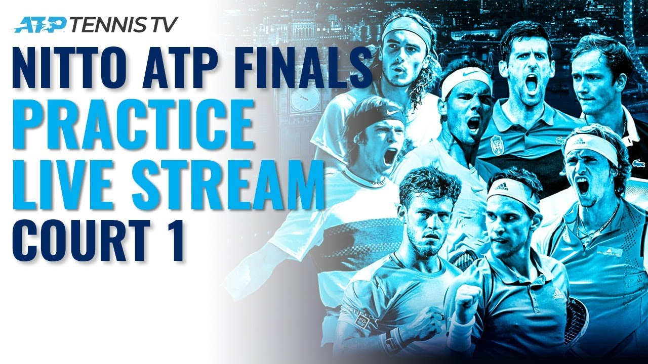 2020 Nitto ATP Finals: Live Stream Practice Court 1 (Wednesday)