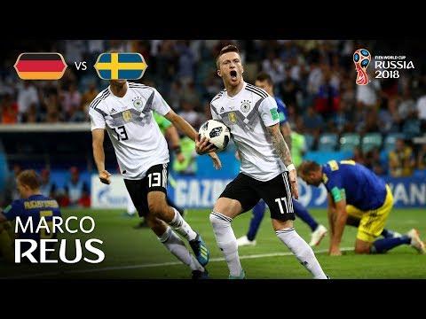 Marco REUS Goal - Germany v Sweden - MATCH 27