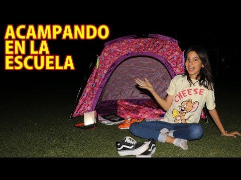 ACAMPANDO EN LA ESCUELA | TV Ana Emilia