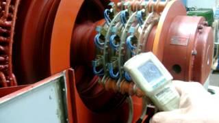 Motor de anéis 1750 Kw 4160 Volts - parte 02