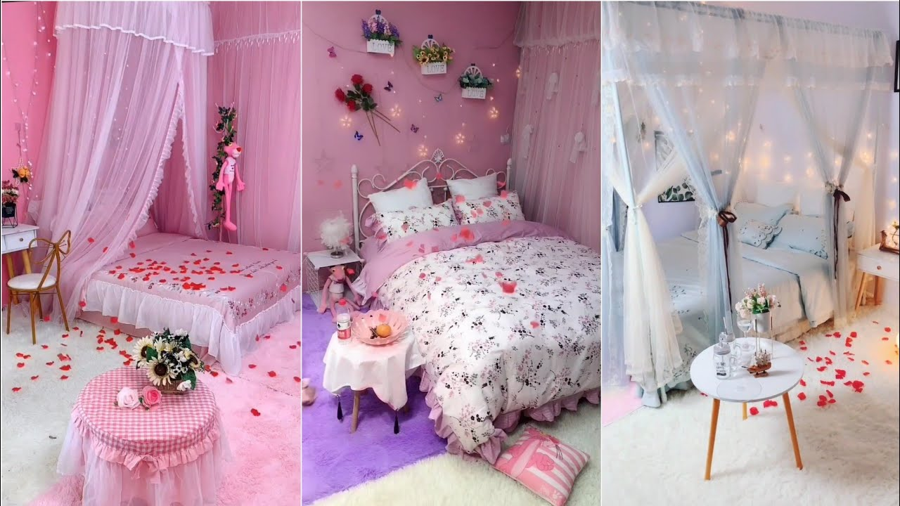 Decorate beautiful bedrooms!😍Satisfying bedrooms decorating makeover #139