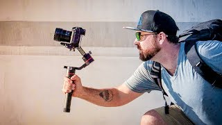 DSLR GIMBAL that gets AWESOME FOOTAGE - Accsoon A1-S