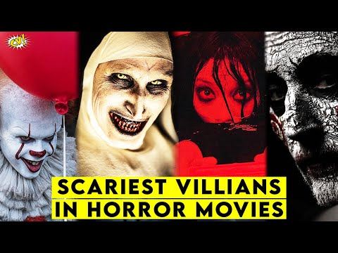 10 Scariest Horror Movie Villains || #ComicVerse