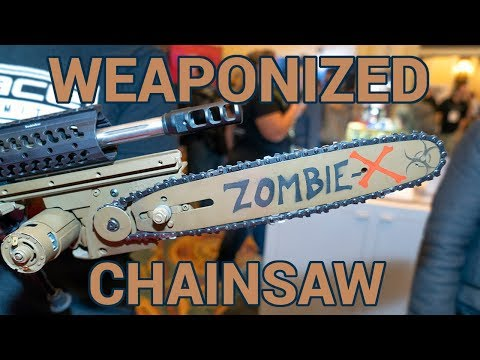 Improved version of AR-15 chainsaw bayonet now available
