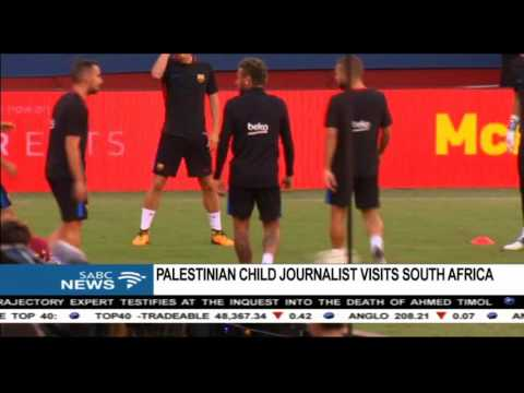 Palestinian child activists in SA